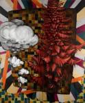 Timo Meyer Kunst_2-teilig, je 240 x 100 cm